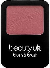 Духи, Парфюмерия, косметика Румяна для лица с кисточкой - Beauty UK Blush & Brush