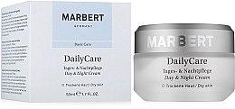 Духи, Парфюмерия, косметика Глубоко питательный крем для лица - Marbert Daily Care Day & Night Cream