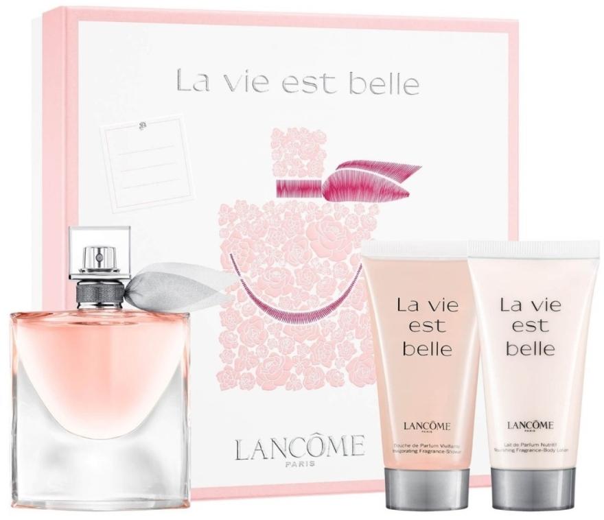 Lancome La Vie Est Belle - Набор (edp/50ml + sh/gel/50ml + b/lot/50ml)