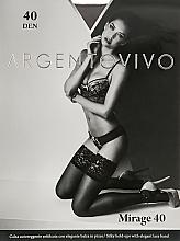 """Духи, Парфюмерия, косметика Чулки """"Mirage 40 AUT"""" 40 DEN, platino - Argentovivo"""
