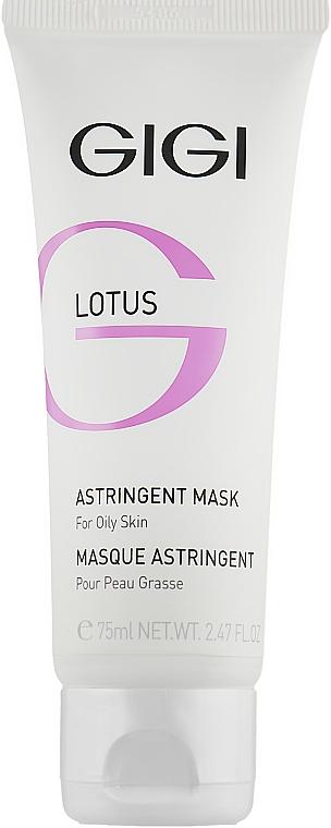 Стягуюча маска для жирної шкіри - Gigi Lotus Astrіngent Mask — фото N1