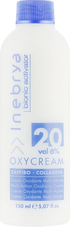 "Окси-крем ""Сапфир-коллаген"" 20, 6% - Inebrya Bionic Activator Oxycream 20 Vol 6%"