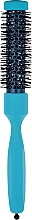 Парфумерія, косметика Брашинг з професійним термостійким нейлоном d 23 mm, блакитний - 3ME Maestri