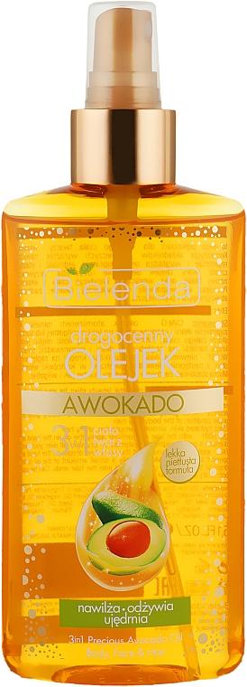 Масло авокадо 3 в 1 для тела, лица и волос - Bielenda Drogocenny Olejek