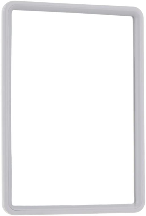 Косметическое зеркало в раме 10х14 см, белое - Titania