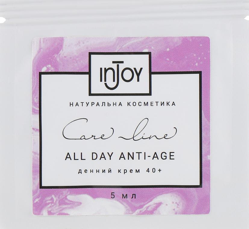 Дневной крем для кожи 40+ - InJoy Care Line All Night Anti-Age (пробник)