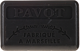 "Духи, Парфюмерия, косметика Марсельское мыло ""Мак"" - Foufour Savonnette Marseillaise Pavot"