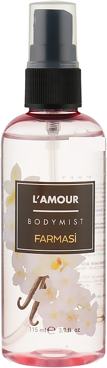 Парфюмированный спрей для тела - Farmasi L'Amour Body Mist