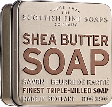 "Духи, Парфюмерия, косметика Мыло ""Масло ши"" - Scottish Fine Soaps Shea Butter Finest Triple-Milled Soap In A Tin"