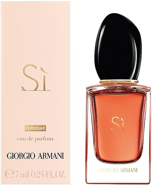 При покупке любого женского аромата Giorgio Armani, получите в подарок миниатюру Giorgio Armani Si Intense, 7 мл