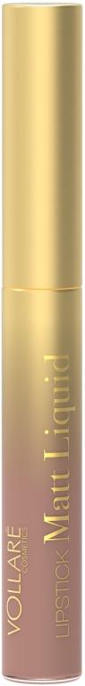 Матовая жидкая помада для губ - Vollare Cosmetics Matt Liquid Lipstick