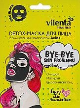 Духи, Парфюмерия, косметика Detox-маска для лица c очищающим комплексом Acid+ - Vilenta Total Black Mask