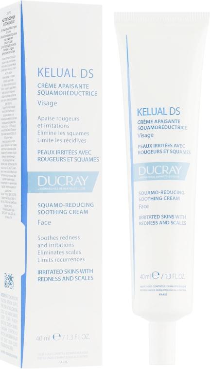 Смягчающий крем для устранения шелушений - Ducray Kelual Ds Squamo-Reducing Soothing Cream