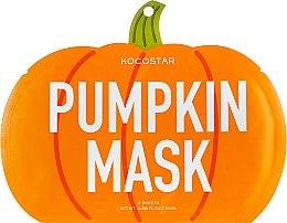 """Духи, Парфюмерия, косметика Маска-слайс для лица """"Тыква"""" - Kocostar Pumpkin Slice Mask Sheet"""