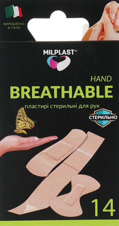 "Пластыри для рук ""Breathable Hand"", 14 шт. - Milplast"