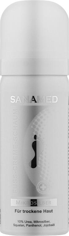 "Крем-пена ""Микросеребро"" для сухой кожи - Suda Care Sanamed"