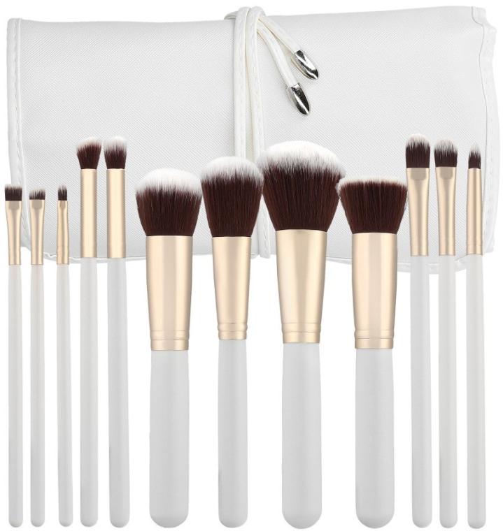 Набор профессиональных кистей для макияжа, 12шт - Tools For Beauty