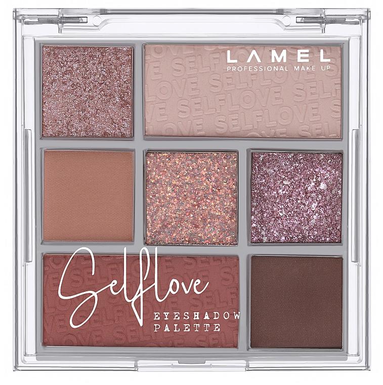 Палетка теней для век - Lamel Professional Selflove Eyeshadow Palette