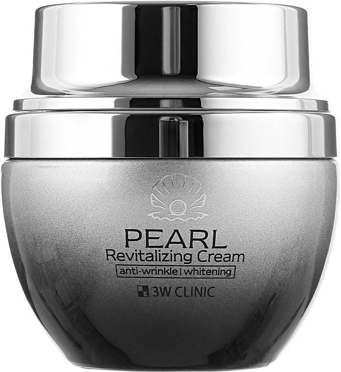 Восстанавливающий крем для лица с экстрактом жемчуга - 3W Clinic Pearl Revitalizing Cream