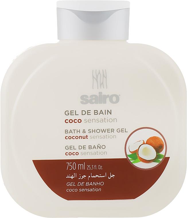 """Гель для душа и ванны """"Кокосовое ощущение"""" - Sairo Bath And Shower Gel"""
