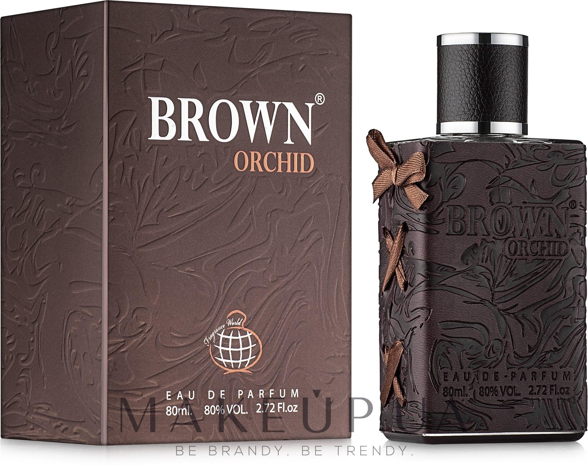 Fragrance World Brown Orchid - Парфюмированная вода — фото 80ml