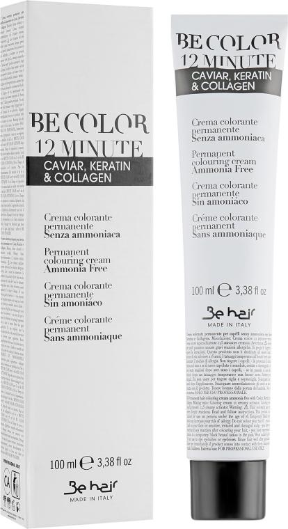 Стойкая безаммиачная краска для волос - Be Hair Be Color Permanent Colouring Cream 12 Minute