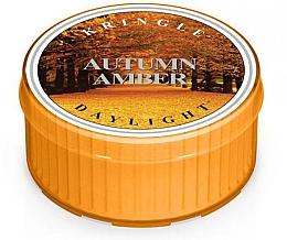 Духи, Парфюмерия, косметика Чайная свеча - Kringle Candle Autumn Amber Daylight