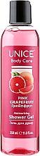 "Духи, Парфюмерия, косметика Гель для душа ""Грейпфрут"" - Unice Body Care Pink Grapefruit Shower Gel"