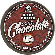 "Духи, Парфюмерия, косметика Твердое масло автозагар ""Шоколад"" - SolBianca Body Butter"