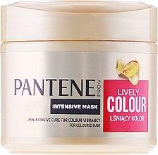"Духи, Парфюмерия, косметика Интенсивная маска ""Защита цвета и блеск"" - Pantene Pro-V Lively Colour"