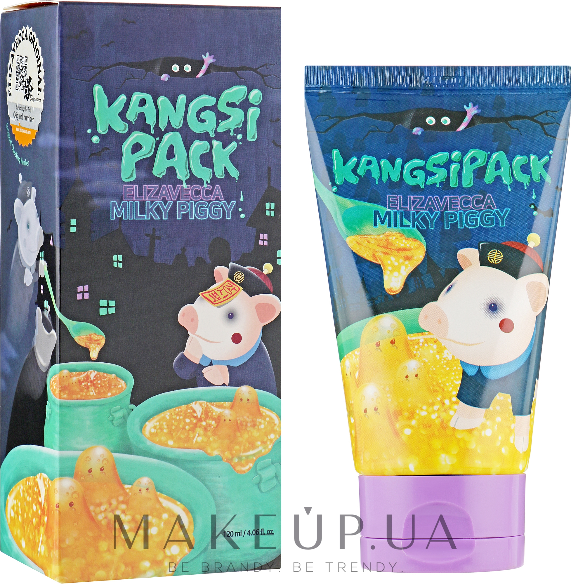 Маска с золотом и коллагеном - Elizavecca Face Care Milky Piggy Kangsipack — фото 120ml