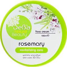 """Духи, Парфюмерия, косметика Восстанавливающий крем для лица """"Розмарин"""" - DeBa Natural Beauty"""