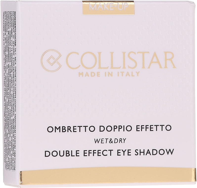Тени для век - Collistar Double Effect Eye-Shadow Wet & Dry