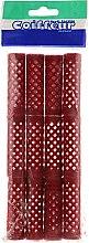 Духи, Парфюмерия, косметика Бигуди металлические, длинные, красные, 18 мм - Comair