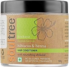 Духи, Парфюмерия, косметика Органическая маска-кондиционер для волос с гибискусом, хной и кокосовым маслом - Biofarma Soultree