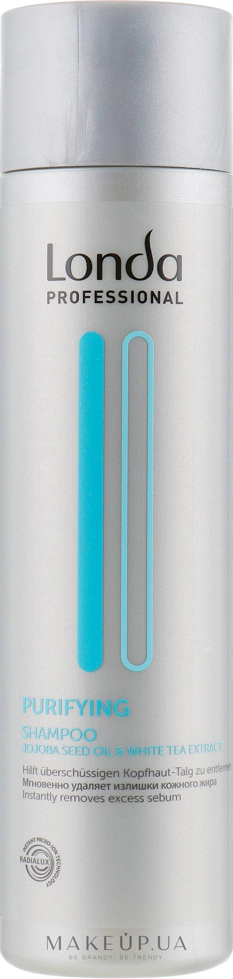 Очищающий шампунь - Londa Professional Scalp Purifying Shampoo — фото 250ml
