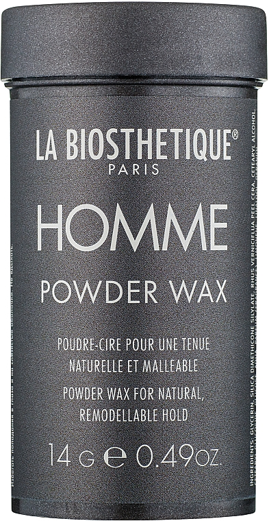 Пудра-воск для волос - La Biosthetique Homme Powder Wax