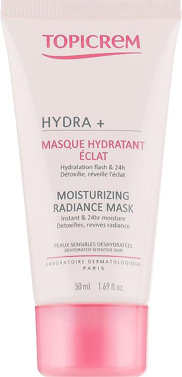 Увлажняющая маска для сияния кожи - Topicrem Moisturizing Radiance Mask
