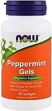 Духи, Парфюмерия, косметика Перечная мята в капсулах - Now Foods Peppermint Gels