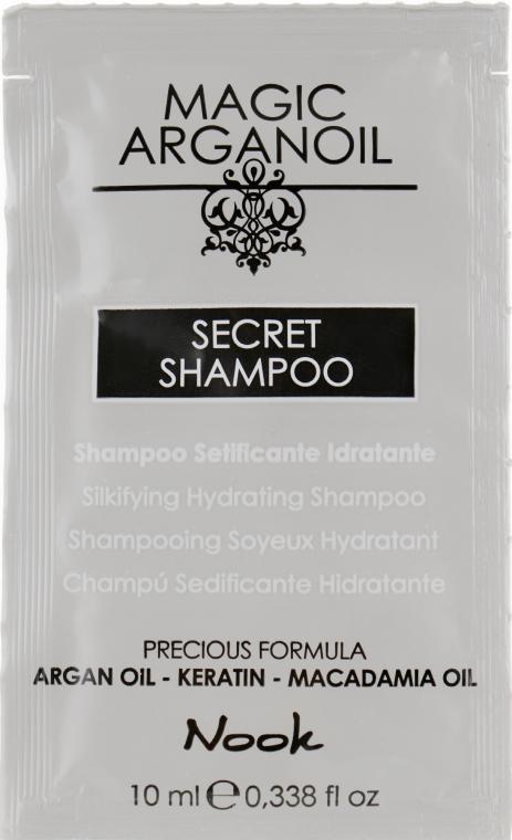 Увлажняющий шампунь - Nook Magic Arganoil Secret Shampoo (пробник)