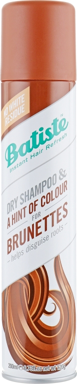 Сухой шампунь - Batiste Dry Shampoo Medium and Brunette a Hint of Colour
