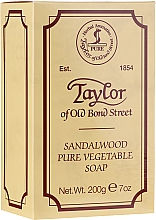 "Духи, Парфюмерия, косметика Мыло ""Сандаловое дерево"" - Taylor of Old Bond Street Sandalwood Soap"