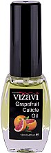"Парфумерія, косметика Олія для кутикули ""Грейпфрут"" - Vizavi Professional Cuticle Oil"