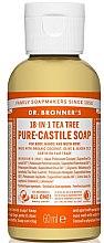 "Духи, Парфюмерия, косметика Жидкое мыло ""Чайное дерево"" - Dr. Bronner's 18-in-1 Pure Castile Soap Tea Tree"
