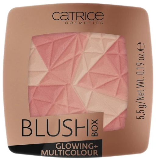 Румяна для лица - Catrice Blush Box Glowing + Multicolour
