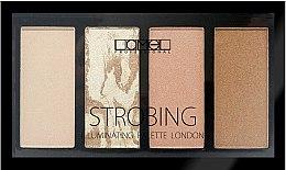 Духи, Парфюмерия, косметика Набор для макияжа - Lamel Professional Strobing Illuminating Palette