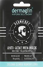 """Духи, Парфюмерия, косметика Маска для лица мужчин """"Антиакне"""" - Dermaglin Anti-Acne Men Mask"""
