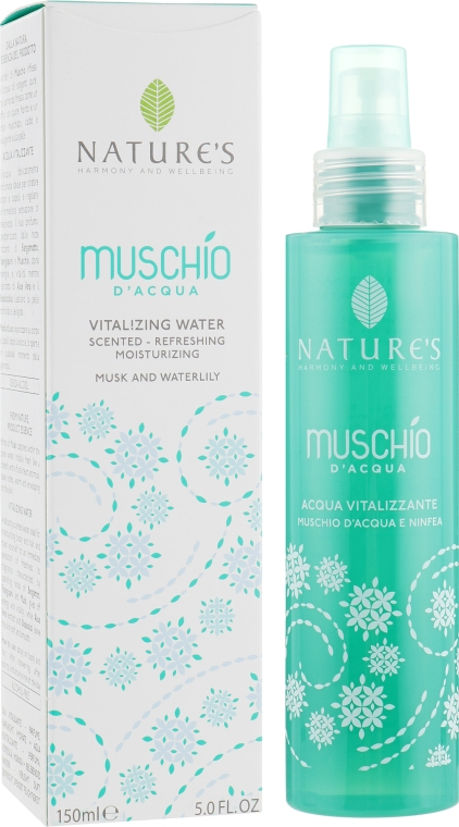 Освежающая вода - Nature's Vitalizing Water Musk And Waterlily