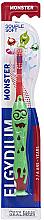 Духи, Парфюмерия, косметика Зубная щетка для детей 2-6 лет, красная - Elgydium Kids Monster Toothbrush