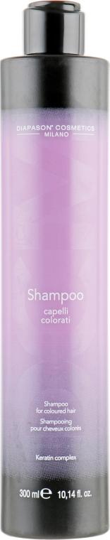 Шампунь для защиты цвета и восстановления окрашенных волос - DCM Keratin Complex Shampoo For Coloured Hair